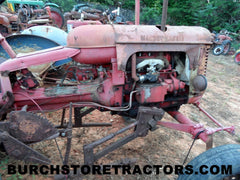 Massey Harris Pacer used tractor parts