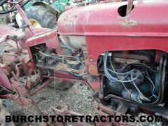 Massey Harris  Pony tractor parts