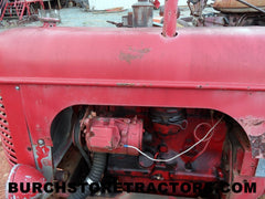 Massey Harris no. 16 Pacer tractor salvage yard