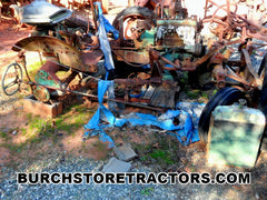 Oliver 440 salvage tractor for parts