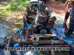 Oliver 440 tractor for salvage