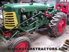 Oliver SUPER 44 Tractor with cultivator
