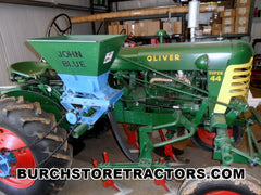 Oliver Super 44 with Attachments