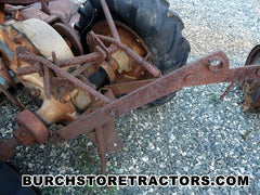 Rear Hitch for David Bradley Garden Tractor