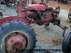 farmall 100 salvage tractor
