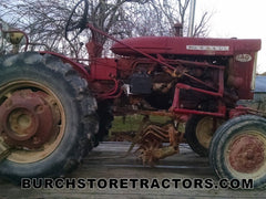 Farmall 140 tractor for used salvage parts