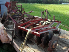 farmall 1 point fast hitch disc harrow