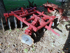 farmall 1 point fast hitch disk harrow