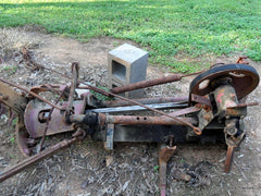 farmall 1 point fast hitch sickle bar mower