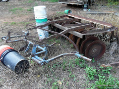 farmall 2 point fast hitch disc harrow