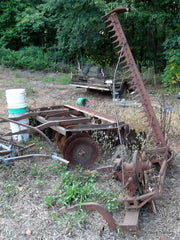 farmall 2 point fast hitch sickle mower