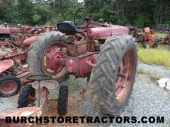 farmall M tractor for salvage parts