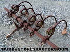 farmall fast hitch tool bar spring cultivator