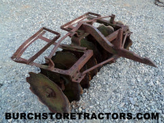 farmall cub tractor F38 fast hitch harrow