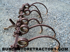 farmall fast hitch spring tooth cultivator