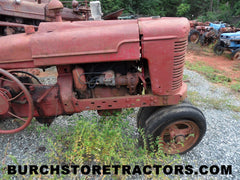 farmall M tractor salvage parts