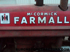 farmall tractor salvage yard