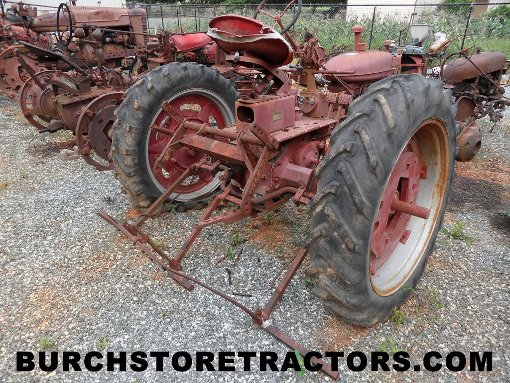 Farmall C, Super C, H, M Series Tractors for Salvage – Burch