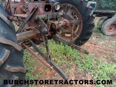 farmall super c with 3 point hitch used parts