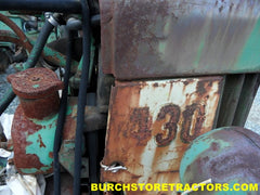 john deere 430 power steering parts tractor