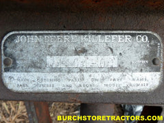 john deere M404 harrow Killefer