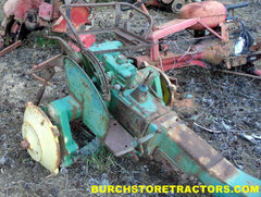 john deere  m tractor parts used