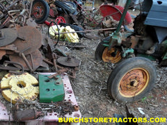 john deere model m weights