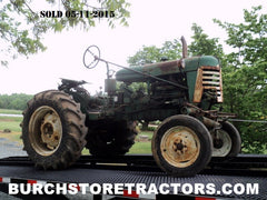 oliver 440 tractor to be restored