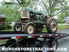 oliver 440 tractor unrestored