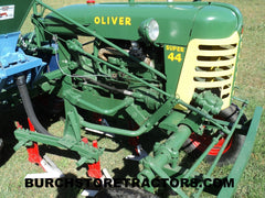 Oliver Super 44 for sale with John Blue fertilizer unit
