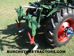 Oliver Super 44 tractor with rear toolbar