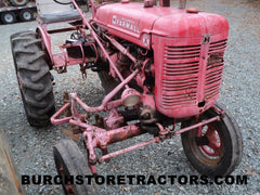 Farmall A tractor for used parts