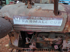 used parts cub tractor