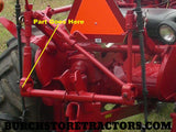 Farmall Hitch Parts