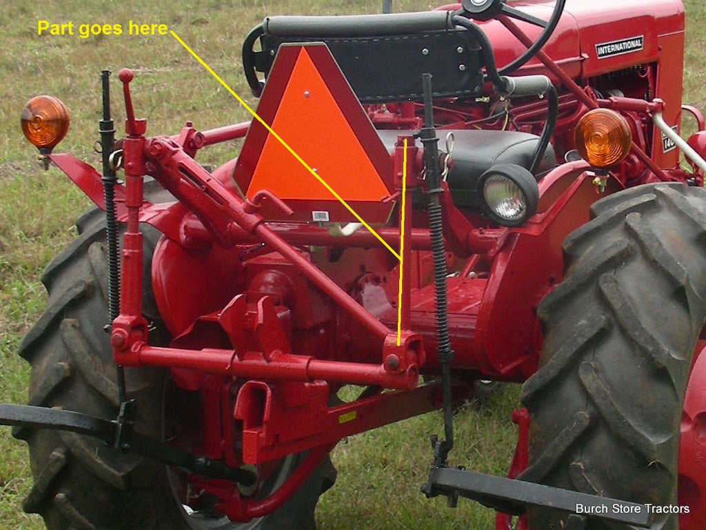 Farmall 504 Tractor 3 Point Lift Arms : Point fast hitch lift rod for farmall  super a