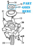 Ford 309 Planter Disc Retainer, 109782