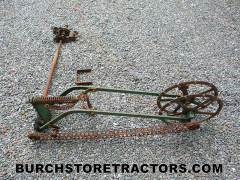 fertilizer drive unit attachment for 3 point hitch cultivator