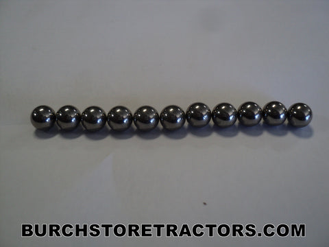 New Steering Worm Shaft Ball Kit for Allis Chalmers, Case, International, John Deere, Massey Harris Tractors