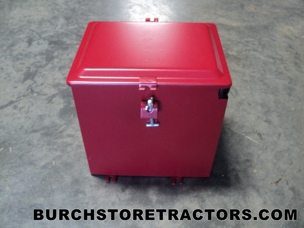 Farmall H Battery : New battery box for farmall c super a