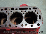 Farmall Tractor C135 Engine Block