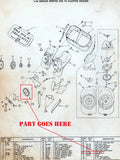 Cole model 16 Duplex Hopper Parts