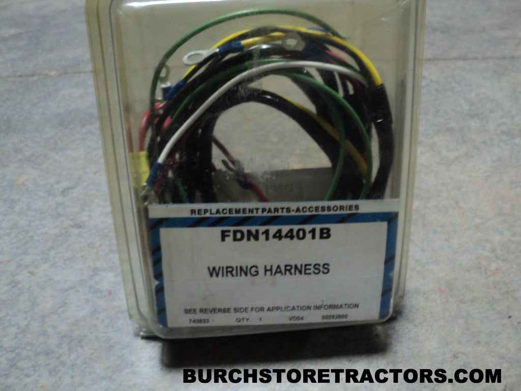 New Wiring Harness for Ford Tractor Models 700, 640, 650, 850, 600, 62 –  Burch Store TractorsBurch Store Tractors