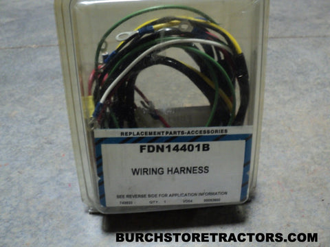 ford tractor parts page 10 burch store tractors new wiring harness for ford tractor models 700 640 650 850 600 620 630 660 740 800 820 part number fdn14401b shipping