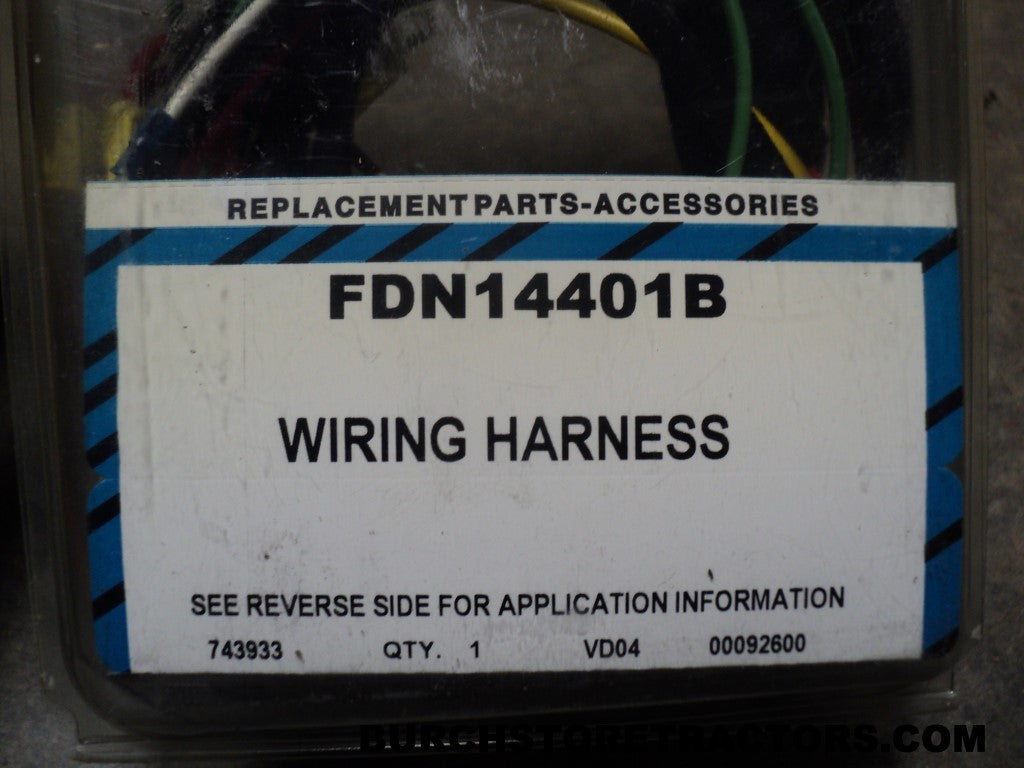 New Wiring Harness For Ford Tractor Models 700  640  650  850  600  62  U2013 Burch Store Tractors