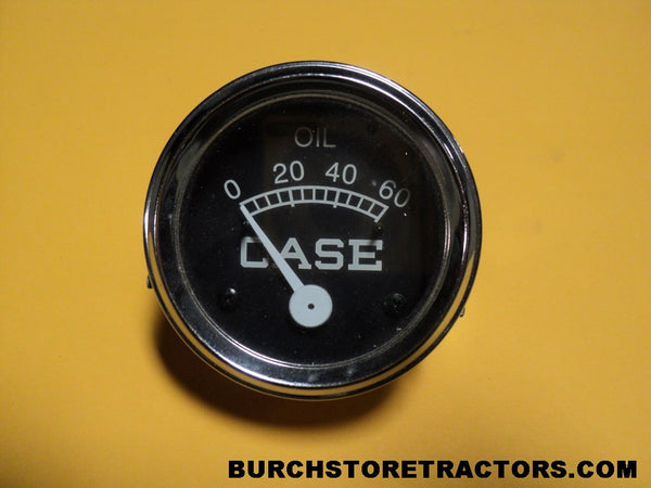 Case V tractor oil gauge