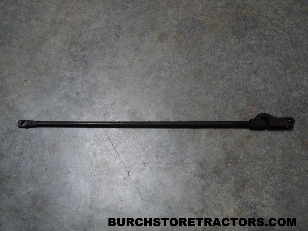 Tractor Clutch Rod : Clutch operating rod with yoke for ih farmall