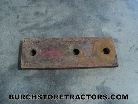 Farmall Cub Tractor Push Blade Brace Support Plate
