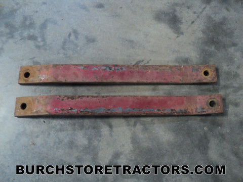 Farmall Cub Tractor Push Blade Axle Braces