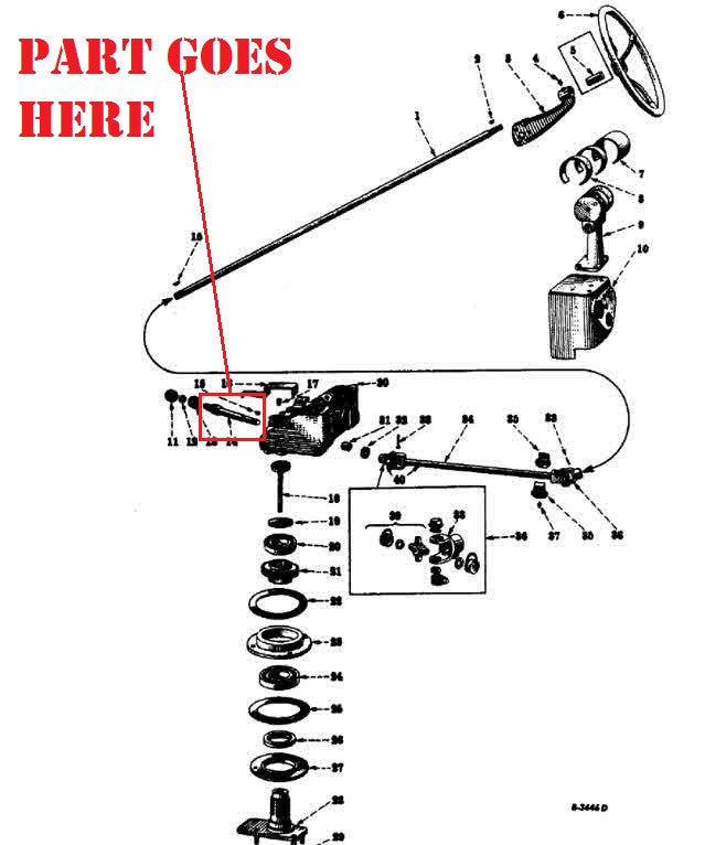 farmall parts tractor diagram m wiring