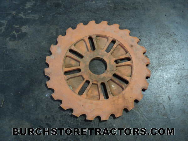 Farmall Tractor Round Corn Seed Plate
